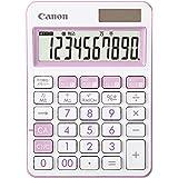 【Amazon.co.jp 限定】Canon カラフル電卓 抗菌仕様 LS-105WUC ラベンダー (10桁/ミニ卓上サイズ/W税機能搭載)LS-105WUC-LV