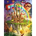 Agirlgle Jigsaw Puzzles 1000 Pieces for Adults for Kids, Jigsaw Puzzles -Tarot Castle- 1000 Pieces Jigsaw Puzzles,Softclick T