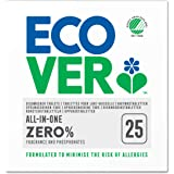 Ecover Zero All-In-One Dishwasher Tablets, 25ct