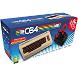 The C64 Mini Console Videogames Deep Silver (EU IMPORT) + 1 Joystick + 64 Games Pre-Installed