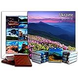DA CHOCOLATE キャンディスーベニア ウクライナ チョコレートギフトセット 13x13cm 1箱 (フラワーズ)