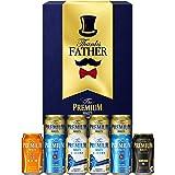 【Amazon限定ブランド】 お父さんに感謝を届ける ビールギフト ザ・プレミアム・モルツ 限定品入り 5種アソート 飲み比べ セット SPBC [ 350ml×6本、500ml×4本 ]