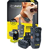 Dogtra 200NCPT Electronic Dog Training Collar with Remote for Small Dogs to Large Dogs - 2640 ft Range, Vibration, Tone, 100