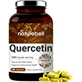 NatureBell Quercetin 1000mg Per Serving, 240 Capsules, Powerfully Supports Cardiovascular Health, Immune System and Bioflavon
