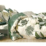 Essina Queen Quilt Cover Duvet Cover Doona Cover Set 3pc Pictorial Collection, 100% Cotton 620 Thread Count, Pillow Sham, Mea