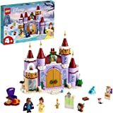 LEGO Disney Belle's Castle Winter Celebration (43180) Disney Princess Building Kit; Makes a Great Birthday or Holiday Gift fo