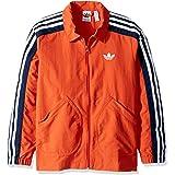 adidas Originals Boys' Big Nylon Coach Jacket