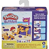 Play-Doh Builder Treasure Chest Toy Building Kit for Kids 5 Years and Up with 3 Non-Toxic Cans - Easy to Build DIY Craft Set