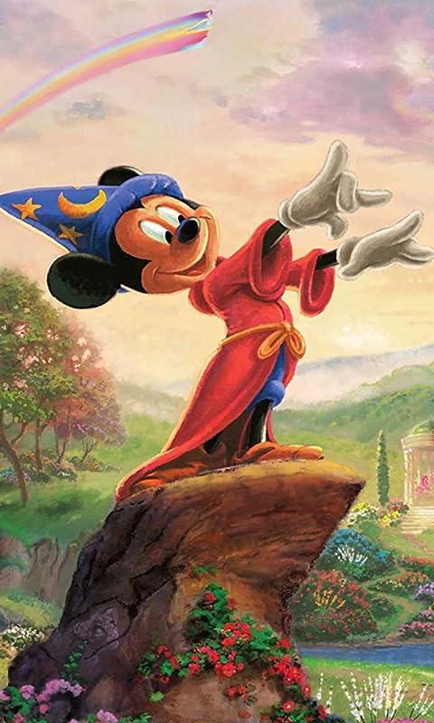 ディズニー 「Fantasia-The Sorcerers Apprentice-」ミッキーマウス XFVGA(480×854)壁紙 画像47187 スマポ