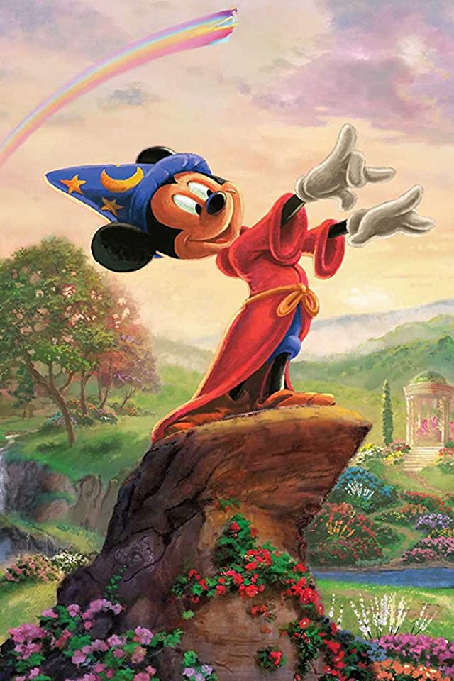 ディズニー 「Fantasia-The Sorcerers Apprentice-」ミッキーマウス iPhone(640×960)壁紙 画像40084 スマポ