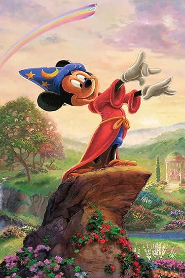 ディズニー  iPhone/Androidスマホ壁紙(640×960)-11 - 「Fantasia-The Sorcerers Apprentice-」ミッキーマウス