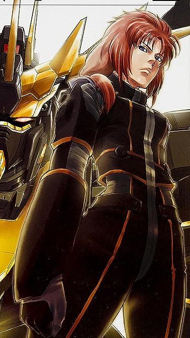 機動戦士ガンダム  iPhone/Androidスマホ壁紙(640×1136)-1 - マリーダ・クルス,ユニコーンガンダム2号機「バンシィ」