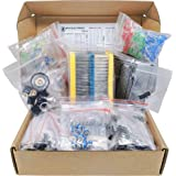 Mega Electronic Component Kit Assortment, Capacitors, Resistors, LED, Transistors, Diodes, 1n270 Germanium, DC Jacks, opamp,