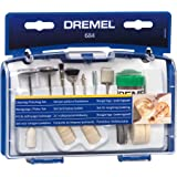 Dremel 684 20Piece Cleaning and Polishing Kit Accessory Set with 2 Mandrels and Polishing Paste for Rotary Multi Tool