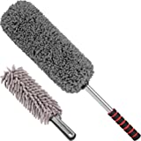Ultimate Car Duster 2 Piece Car Cleaning Kit - Interior Duster & Exterior Duster ? Lint Free