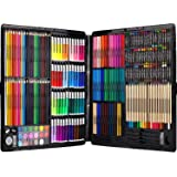 258 Piecs Inspiration Art Set for Drawing and Sketching Color Pen Crayons Case Painting Set