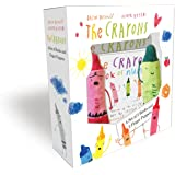 Crayons: A Set of Books and Finger Puppets