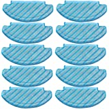 10Pcs Mop Cloths Cleaning Pads for Ecovacs Deebot Ozmo T8 AIVI Vacuum Cleaner Accessories
