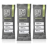LMNT Recharge Electrolyte Hydration Powder   Formulated by Robb Wolf and Ketogains   Keto & Paleo   No Sugar, No Artificial I