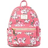 Loungefly Disney The Aristocats Marie Pink Floral Allover-Print Mini Fashion Handbag Backpack WDBK1287