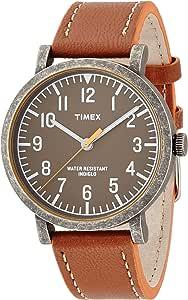 [タイメックス] 腕時計 クラシックラウンド・ポップ T2P507 正規輸入品 ブラウン