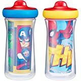The First Years Insulated Sippy Cup, Marvel Adventures Superhero, 2 Piece