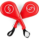 Juvale Taekwondo Kick Pad, Striking Pads (Red, 15 x 2.5 x 7.5 in, 2 Pack)