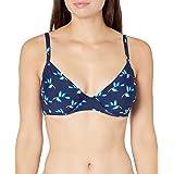Anne Cole Women's Over The Shoulder Underwire Twist Sexy Bikini Swim Top