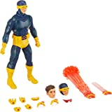 Mezco One: 12 Collective: Marvel Classic Cyclops Action Figure, Multicolor (76290)