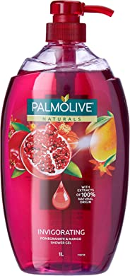 Palmolive Naturals Pomegranate & Mango with Moisture Beads Invigorating Soap free Body Wash 1L