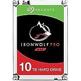 Seagate 10TB IronWolf Pro 7200RPM SATA 6Gb/s 256MB Cache 3.5-Inch NAS Hard Disk Drive (ST10000NE0004)