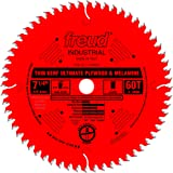 Freud 7-1/4 In. 60 Tooth Ultimate Plywood and Melamine Saw Blade with 5/8 In. Arbor (LU79R007)