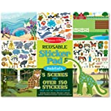 Melissa & Doug 4196 Habitats - 150+ Reusable Stickers,Blue