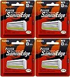 【まとめ買い】フェザー エフシステム 替刃 サムライエッジ 8コ入 (日本製)×4個