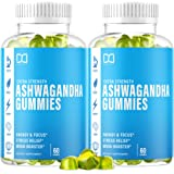 Ashwagandha Gummies Root Extract Supplements with Organic Maca Root for Women Men Kids - Gummy Alternative to Capsules, Powde
