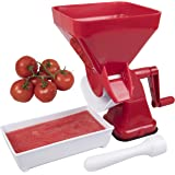 CucinaPro Tomato Strainer - Easily Juices, No Peeling, Deseeding, or Coring Necessary