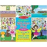 Melissa & Doug 8603 Reusable Sticker Pad: Fairies (200+ Stickers)