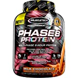 Whey Protein Powder, MuscleTech Phase8 Protein Powder, Whey & Casein Protein Powder Blend, Slow Release 8-Hour Protein Shakes