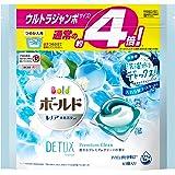 ボールド 洗濯洗剤 ジェルボール 洗濯水をデトックス 爽やかプレミアムクリーン 詰め替え 63個(約4倍)