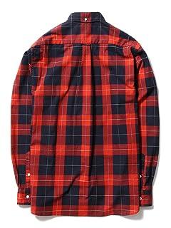 Pen Check Buttondown Shirt 11-11-2502-139: Red
