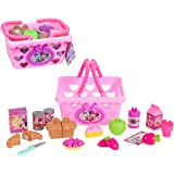 Minnie Mouse Minnie Mouse JPL88900 Minnie Bow Tique Bowtastic Shopping Basket Set, Pink Shopping Basket