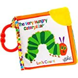 THE WORLD OF ERIC CARLE Soft Book: Very Hungry Caterpillar Let's Count Clip-On