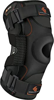 Hinged Knee Brace: Shock Doctor Maximum Support Compression Knee Brace - For ACL/PCL Injuries, Patella Support, Sprains, Hype