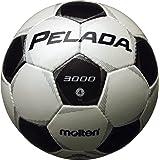 molten(モルテン) ペレーダ3000 サッカーボール4号球 検定球 ホワイトブラック 小学生用 F4P3000 WHTBLK