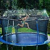 Bobor Trampoline Sprinklers for Kids, Outdoor Trampoline Spary Park Fun Summer Water Toys.(39ft)