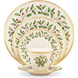 Lenox 146590600 Holiday 5-Piece Place Setting