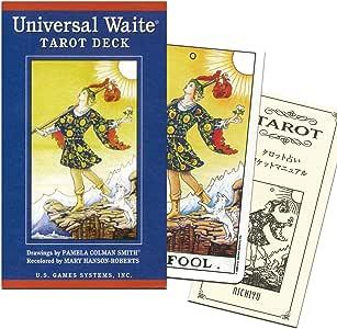 ユニバーサル・ウェイト・タロット・デッキ 日本語小冊子『ポケットマニュアル』付