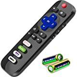 EWO'S RC280 Remote Control for TCL-Roku-TV-Remote-Replacement, with Buttons for Netflix, Hulu, ESPN+, Roku Channel