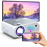Bomaker HD WiFi Mini Projector, Native 1280x720P Outdoor Movie Projector, 1080p & 200'' Display Supported, for Android/ iPhon