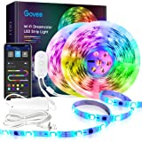 DreamColor 32.8FT LED Strip Lights, Govee WiFi Wireless Smart Phone Controlled Led Light Strip 5050 LED Lights Sync to Music,